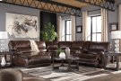 Killamey - Walnut 6 Piece Sectional Product Image