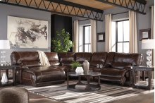 Killamey - Walnut 6 Piece Sectional