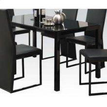 Dining Table W/bk Gl (1pc/1ctn