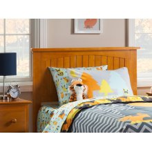 Nantucket Headboard Twin Caramel Latte
