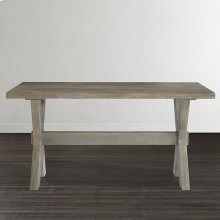 """Bench*Made Maple Crossbuck 54"""" Desk"""