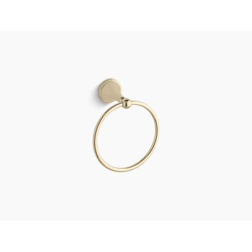 Vibrant French Gold Towel Ring