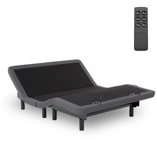 Symmetry ZERO Clearance Adjustable Bed Base with Head and Foot Articulation, King