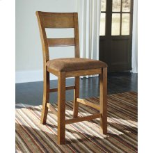 Krinden - Light Brown Set Of 2 Dining Room Barstools