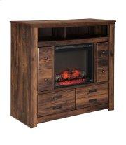Quinden - Dark Brown 2 Piece Bedroom Set Product Image