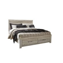 Bellaby - Whitewash 4 Piece Bed Set (King)