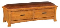 LSO 2-Drawer Prairie City Bench Product Image