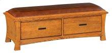 LSO 2-Drawer Prairie City Bench