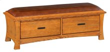LSO 2-Drawer Prairie City Bench