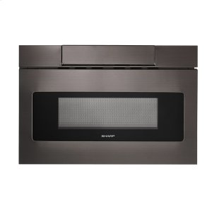 Sharp Appliances24 in. 1.2 cu. ft. 950W Sharp Black Stainless Steel Microwave Drawer