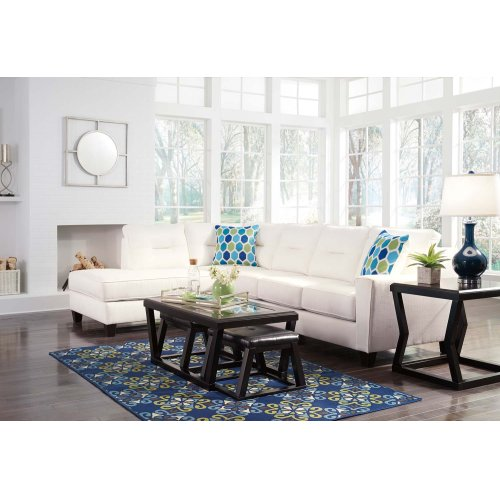 Kirwin Nuvella® - White 2 Piece Sectional