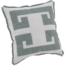 "Custom Decorative Pillows Double Greek Key (21"" x 21"")"