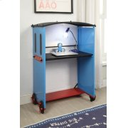 TOBI BLUE/BLACK TRAIN DESK Product Image