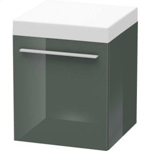 Mobile Storage Unit, Dolomiti Gray High Gloss Lacquer