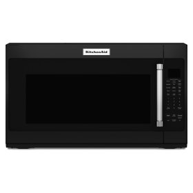 """1000-Watt Microwave with 7 Sensor Functions - 30"""" Black"""