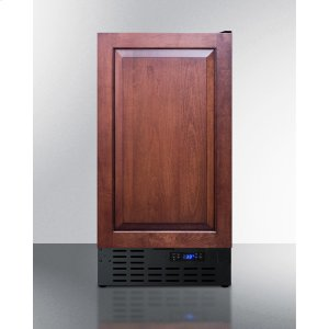 "Summit18"" Wide Built-in Undercounter All-refrigerator With A Panel-ready Door, and Digital Thermostat"