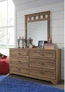 Brobern - Medium Brown 2 Piece Bedroom Set Product Image