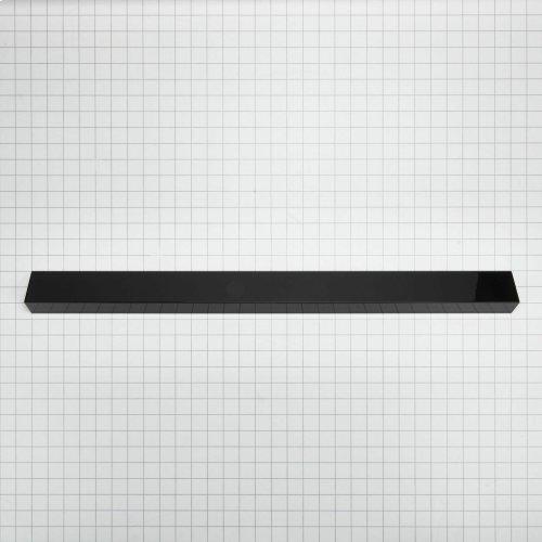 Slide-In Range Rear Filler - Black