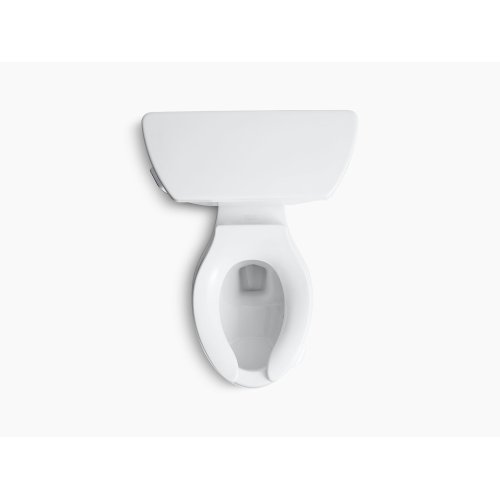 Biscuit Classic Two-piece Elongated 1.6 Gpf Toilet With Pressure Lite Flush Technology and Left-hand Trip Lever, Less Seat