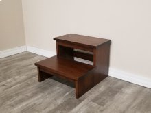 Solid Oak & Alder Step-Stool