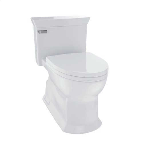 Eco Soiree® One Piece Toilet, 1.28 GPF, Elongated Bowl - Colonial White