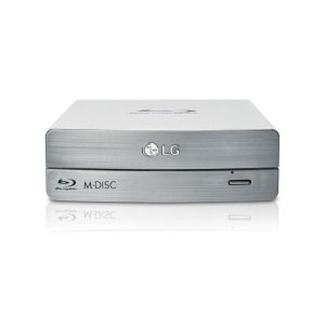 LG ElectronicsExternal Blu-ray/DVD Writer 3D Blu-ray Disc Playback & M-DISC™ Support
