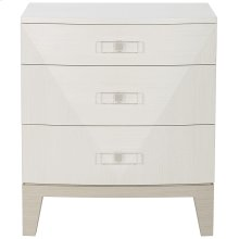 Axiom Nightstand in Linear Gray (381)
