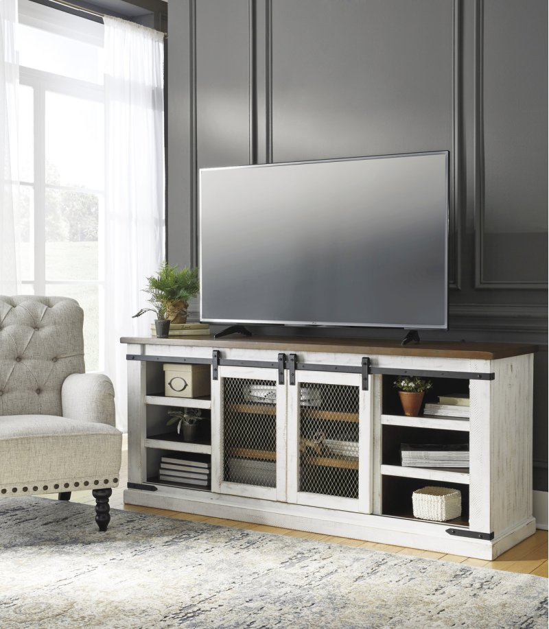 W54968 In By Ashley Furniture In Lubbock Tx Extra Large Tv Stand