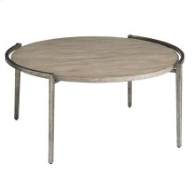Chelsea Pier Round Cocktail Table