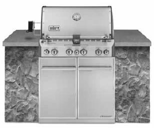SUMMIT S-460 BUILT-IN LP Gas Grill