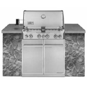 WeberSUMMIT® S-460™ NATURAL GAS GRILL - STAINLESS STEEL