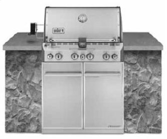 SUMMIT(R) S-460(TM) NATURAL GAS GRILL - STAINLESS STEEL