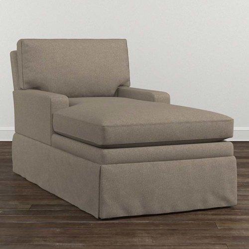 Allister Grande Armless Chaise