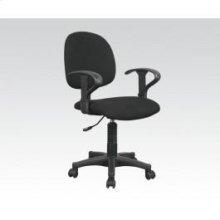 Black Fabric Office Chair