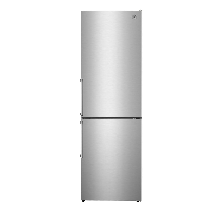 Bertazzoni24 Inch Freestanding Bottom Mount Refrigerator Stainless Steel