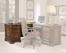 Home Office Brookhaven Left Pedestal Desk