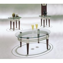 MARSEILLE 3PC COFFEE/END TABLE
