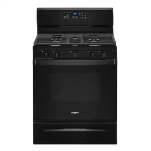 Whirlpool5.0 cu. ft. Whirlpool® gas range with center oval burner