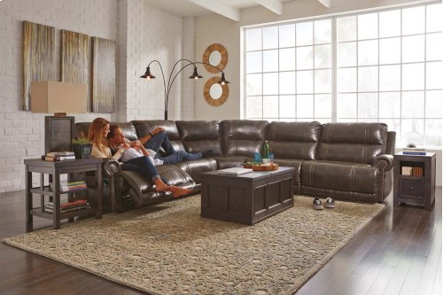 Dak DuraBlend® - Antique 5 Piece Sectional