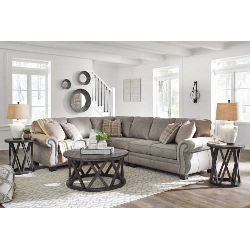 Olsberg - Steel 3 Piece Sectional