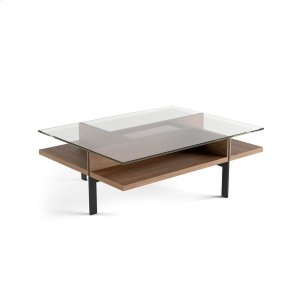 Bdi FurnitureRectangular Coffee Table 1152 in Natural Walnut