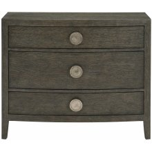 Linea Bachelor's Chest in Cerused Charcoal (384)
