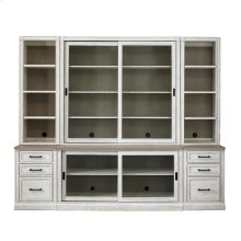 "Bella 100"" Library Bookcase"