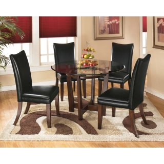 Charrell Black 5 Piece Dining Room Set