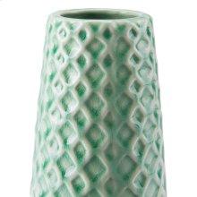 Rombo Lg Vase Light Green