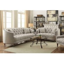 Avonlea Beige Two-piece Living Room Set