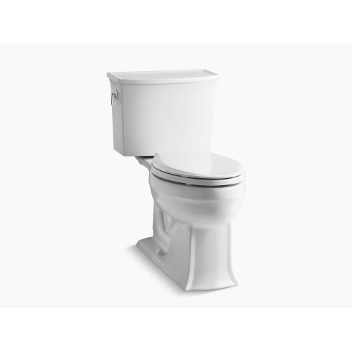 Dune Comfort Height Two-piece Elongated 1.28 Gpf Toilet With Aquapiston Flushing Technology, Seat Not Included