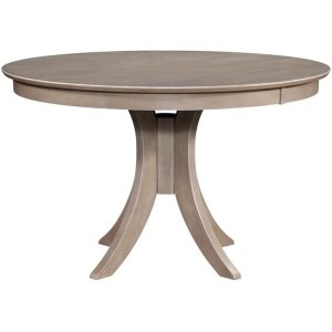 JOHN THOMAS FURNITURE30'' H Siena Pedestal Table in Taupe Gray
