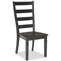 Glennwood Side Chair  Black & Charcoal Product Image