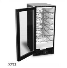 Wine Storage Unit - Stainless Steel